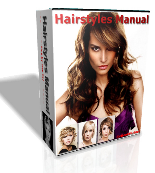 Product picture How to Apply Hairstyles, Hair Design Knowledge eBook Package